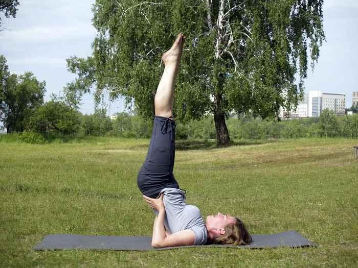 Упражнение от морщин и седины