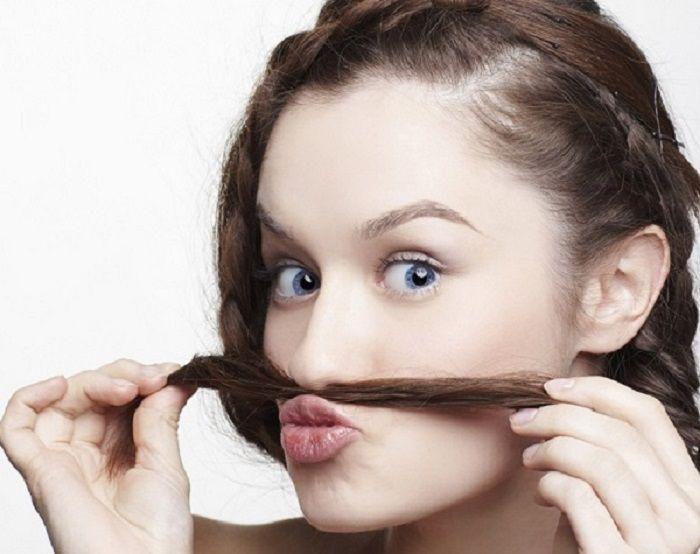 Как удалить усики на лице
