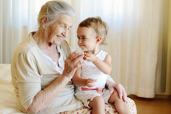 Сочинение ребенка о бабушке