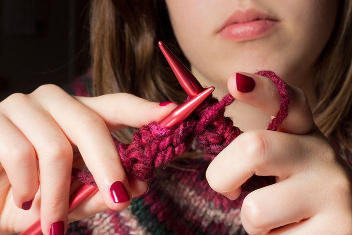Как вязание влияет на мозг