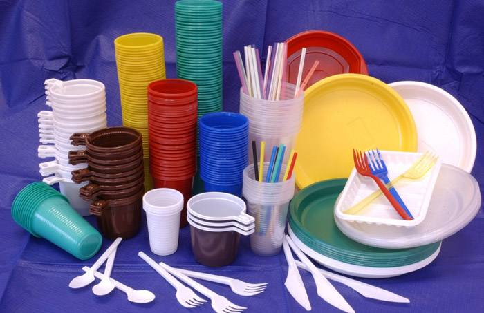 Пластиковая посуда, вред