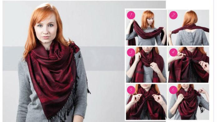5 интересных идей с шарфом - уже вполне может пригодиться7