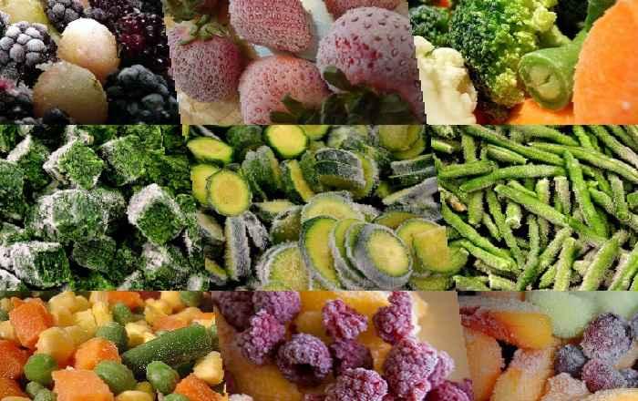 Замораживаем фрукты и овощи на зиму