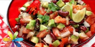 Вкусный салат и любимое блюдо Брэда Питта