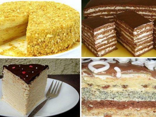 Подборка самых вкусных тортов