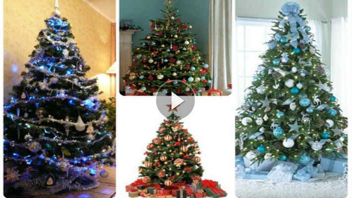 Как красиво украсить елку на Новый год (видео)