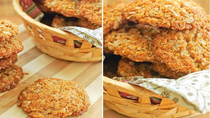 Овсяное печенье без муки, яиц и масла2