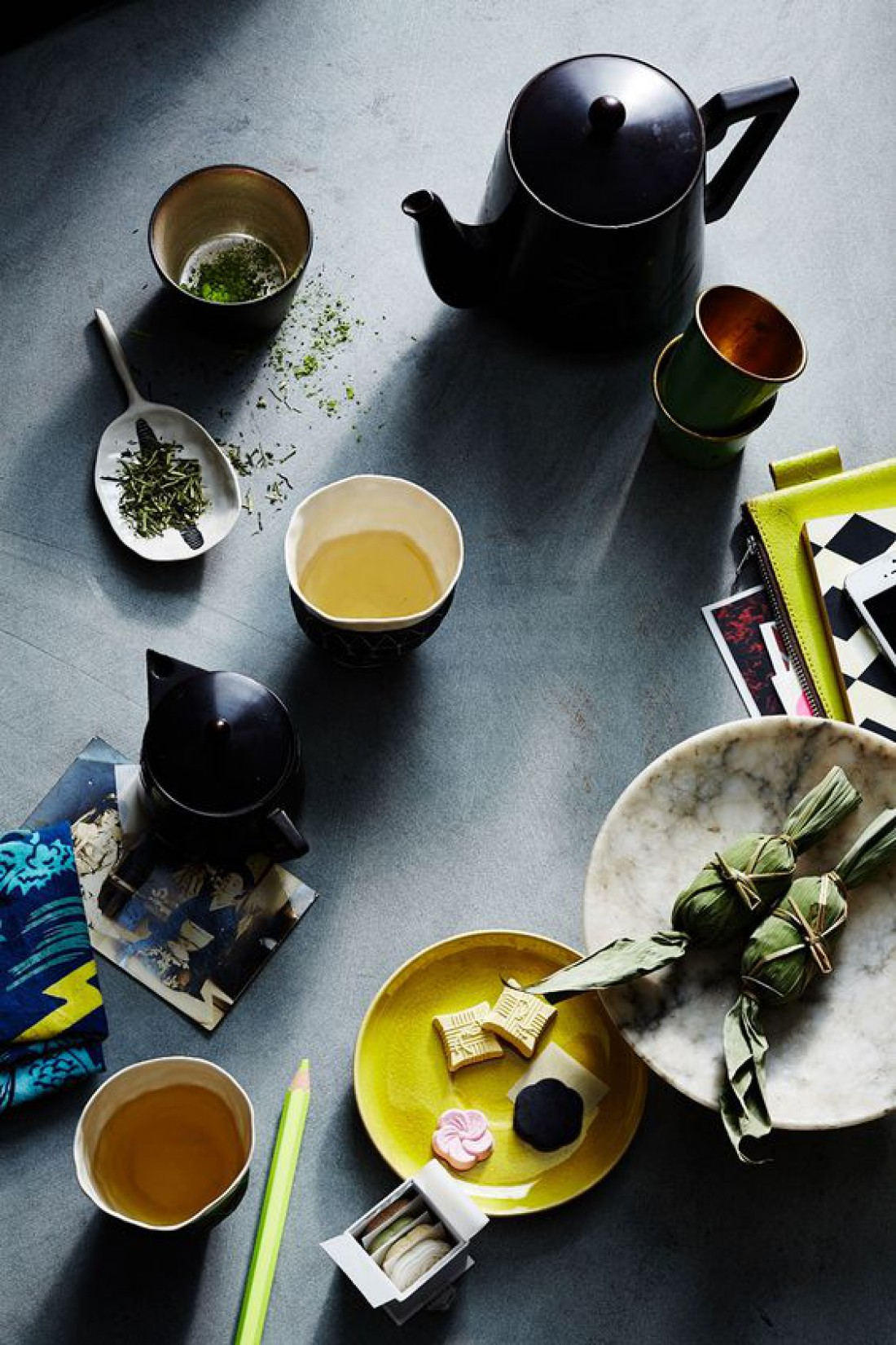 Зеленый чай стимулирует обмен веществ