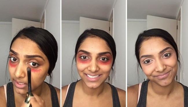 Она нанесла дезодорант на лицо! 5