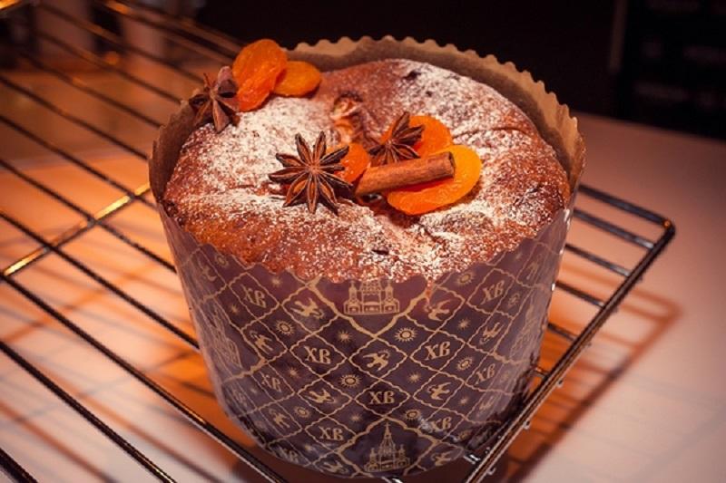 Итальянский пасхальный кекс «Панеттоне»3