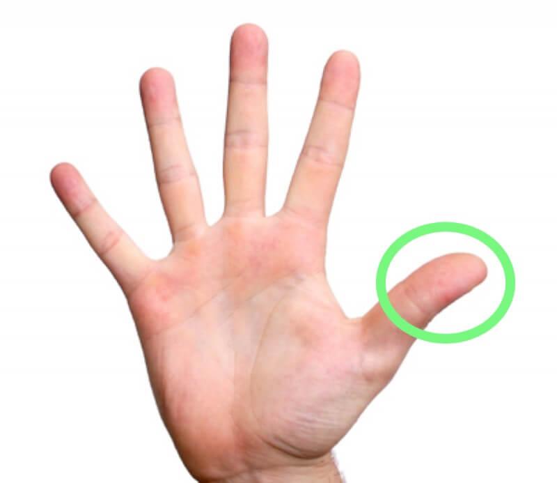 Что будет если массировать палец по 1 минуте в день2