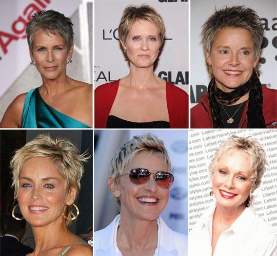 Короткие стрижки для женщин после 50: Элегантность и стиль9