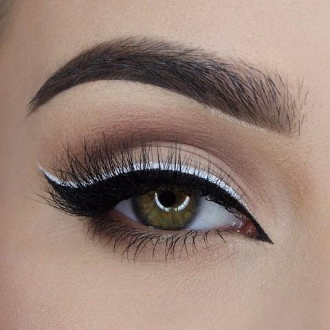 11 шикарных примеров макияжа для зеленых глаз11