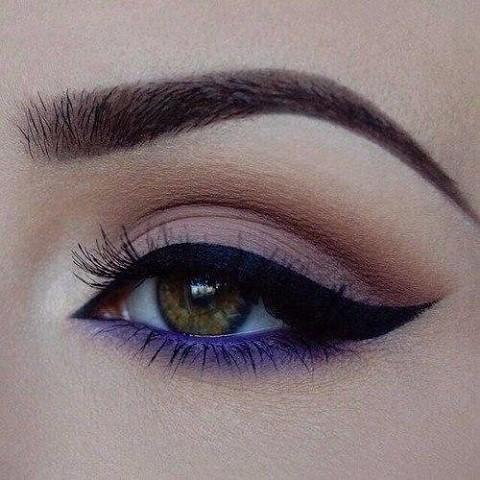11 шикарных примеров макияжа для зеленых глаз4