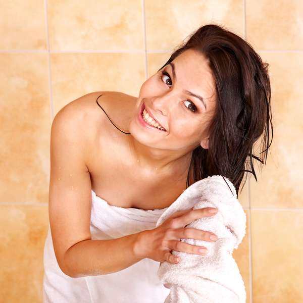 Почему прекратила умываться, принимая душ13
