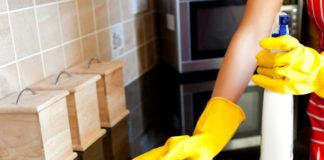 Как избавиться от пятен на кухне