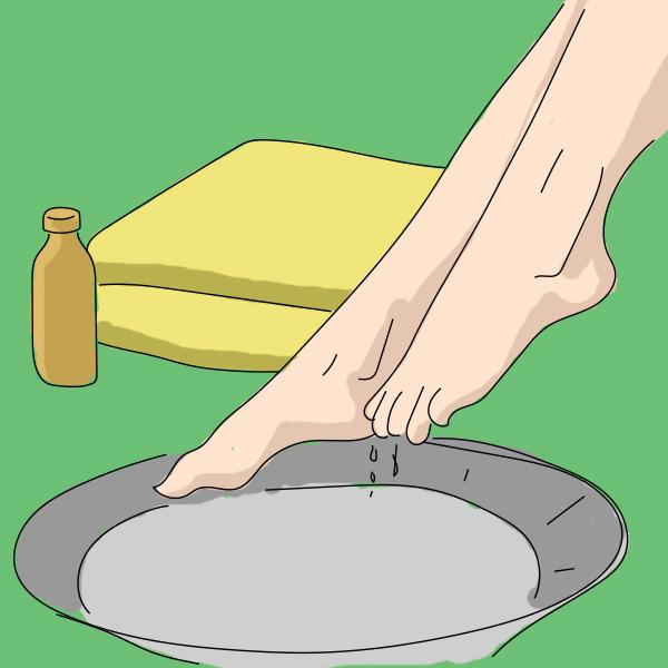 Вот что произойдет, если подержать ноги в уксусе9
