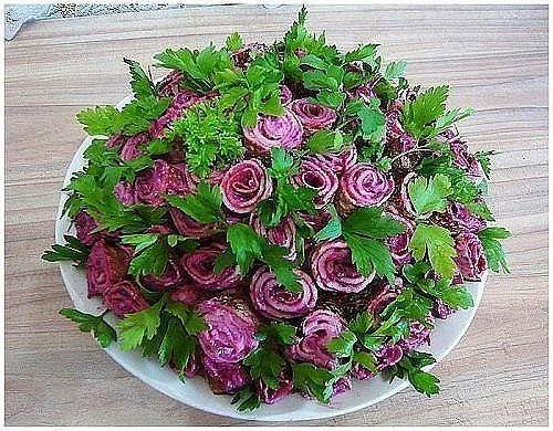 Топ 10 салатов цветов 2