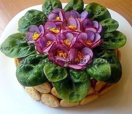 Топ 10 салатов цветов 3
