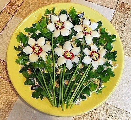 Топ 10 салатов цветов 9