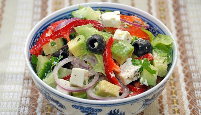 сделать салат рецепт с авокадо край Приморский