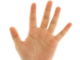 75 способов определения болезни по руке