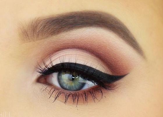 Макияж для увеличения глаз (фото)
