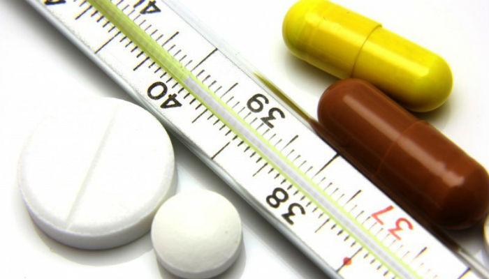 Понижение температуры тела натуральными методами без таблеток