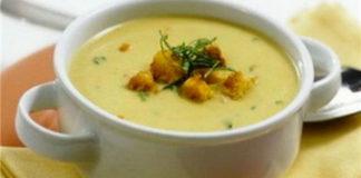 Гороховый суп-пюре (или суп пюре из фасоли)