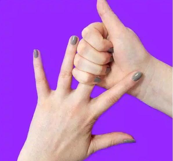 Если подержать себя за палец 20 секунд, можно добиться поразительного результата