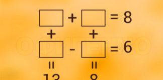 Расставь числа, чтобы равенства стали верными