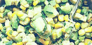 Салат с кукурузой (горошком)