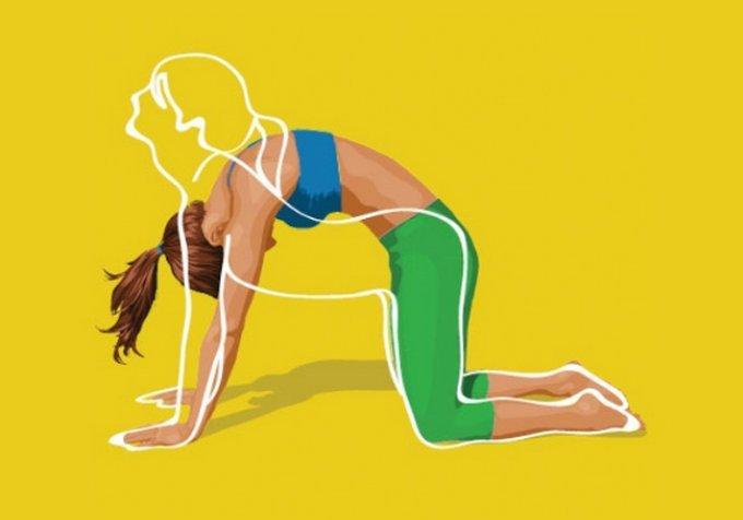 Упражнения от обвисшего живота