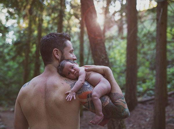 В жизни мужчины нет момента более трогательного: 30 фотографий