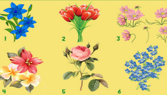 Выберите букетик и узнайте свое предсказание на весну