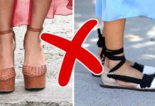8 Пар обуви, которая вредит вашим ножкам