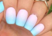 Маникюр-омбре: 30 очень эффектных идей дизайна ногтей