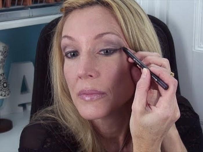 Eye makeup after 60