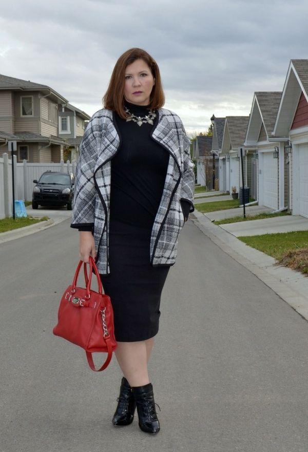 Элегантный стиль в одежде для полных женщин после 50 лет: