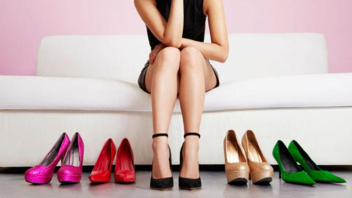 Как вычислить свою идеальную высоту каблуков…
