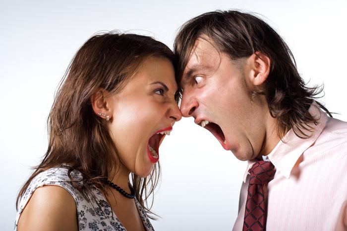 Когда люди ссорятся