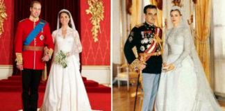 Королевские свадьбы: 30 фото со свадебных торжеств наследников престолов