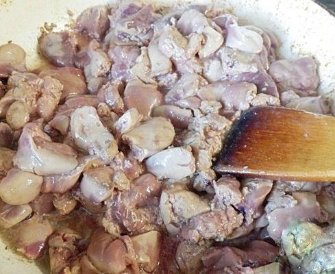 Вкуснейшая запеканка из куриной печени