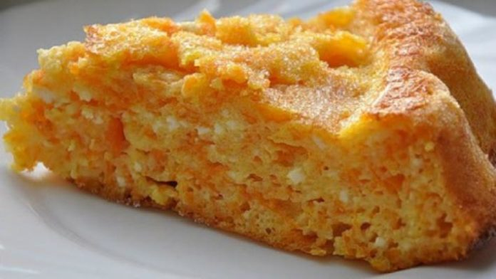 Нежная творожно-морковно-яблочная запеканка без манки
