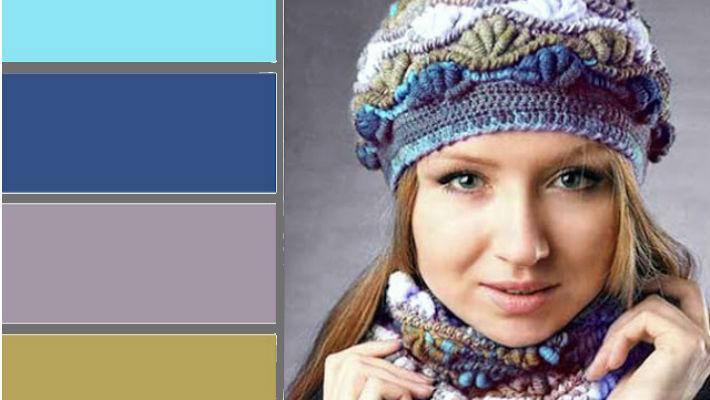 Топ-15 модных женских шапок и шарфов! Безукоризненное сочетание цветов…
