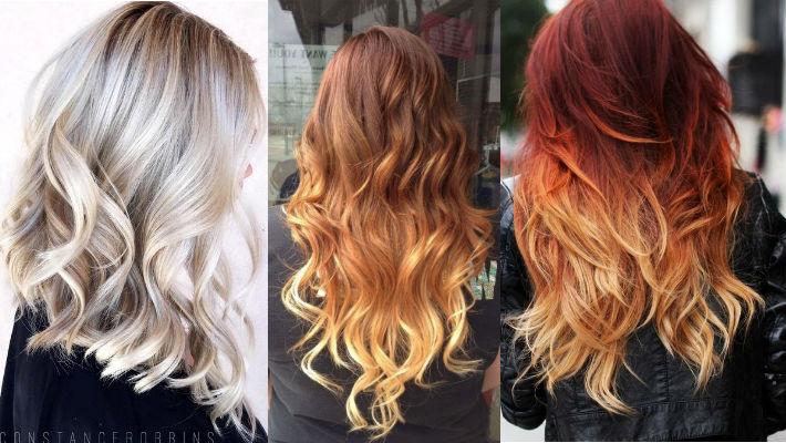 33 примера окрашивания для блондинок, брюнеток и рыжих