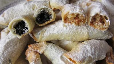Рогалики из тончайшего, хрустящего теста и много сладкой вкусной начинки