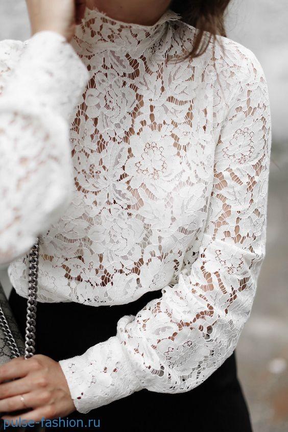 Картинки по запросу модные белые блузки 2017