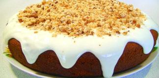 Пышный пирог-пятиминутка