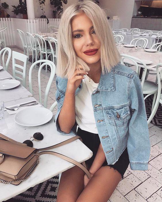 Модная стрижка каре 2018